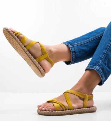 Sandale Lilice Galbene