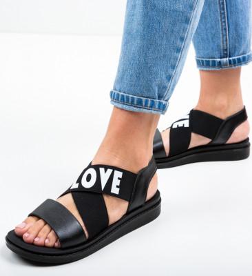 Sandale Lovers Negre