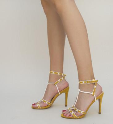 Sandale Mach Galbene