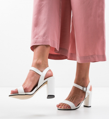 Sandale Medr Albe