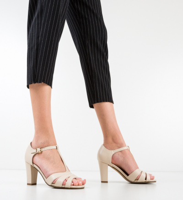 Sandale Neoga Bej