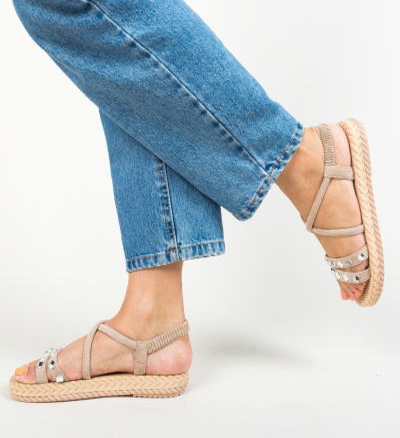 Sandale Nestira Bej