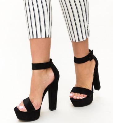 Sandale Noir Negri
