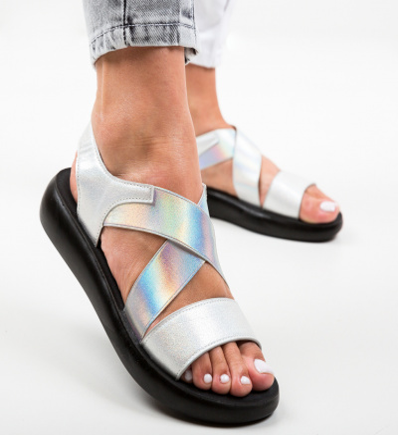 Sandale Primosi Argintii