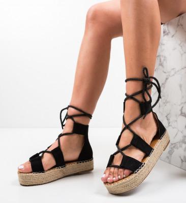 Sandale Quiero Negre