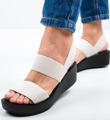 Sandale Sclipio Bej