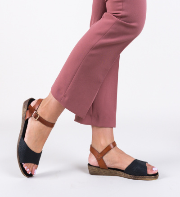 Sandale Sindo Negre