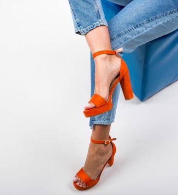 Sandale Tyra Portocalii