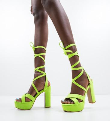 Sandale Ubaid Verzi Neon