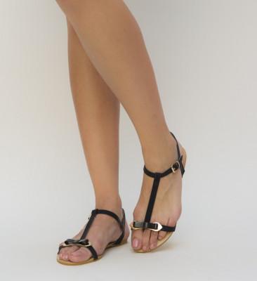 Sandale Ferta Negre