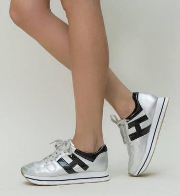 Pantofi Sport Simbo Argintii