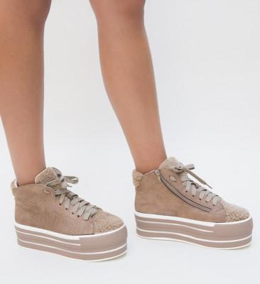 Pantofi Sport Zagoza Khaki