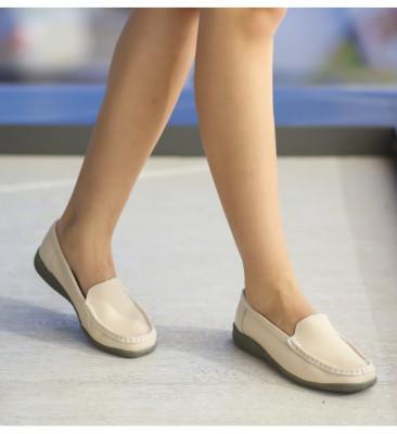 Pantofi Casual Leida Bej