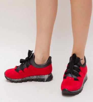 Pantofi Sport Simin Rosii