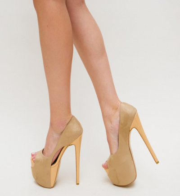 Pantofi Sicilia Bej