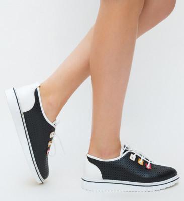 Pantofi Casual Meso Negri