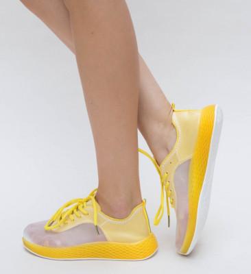 Pantofi Sport Demes Galbeni