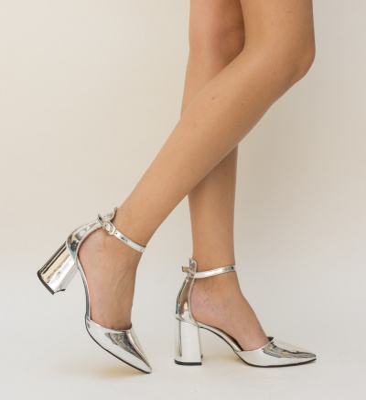 Pantofi Avust Argintii