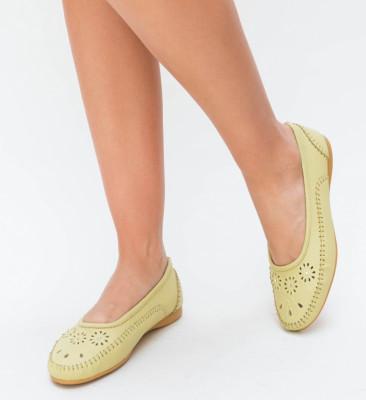 Pantofi Casual Ruba Galbeni
