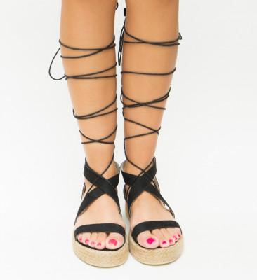 Sandale Deziren Negre 2