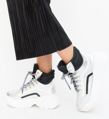 Pantofi Sport Spedin Argintii