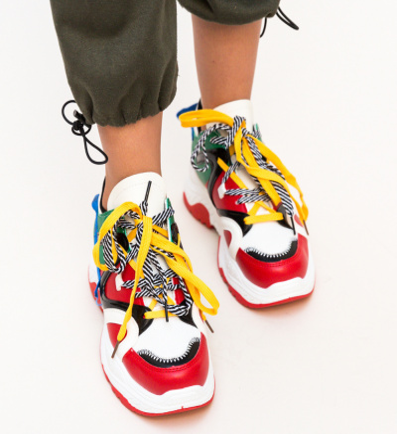 Pantofi Sport Nate Rosii