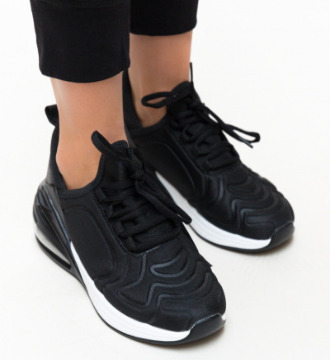 Pantofi Sport Drapo Negri