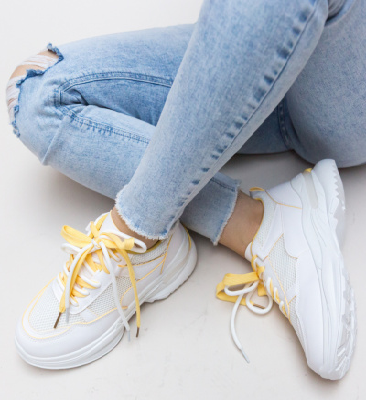 Pantofi Sport Kiana Galbeni