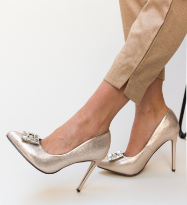 Pantofi Dylon Aurii