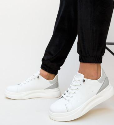 Pantofi Casual Mona Gri