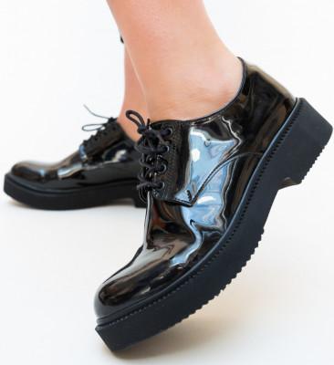 Pantofi Casual Masco Negri
