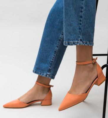 Pantofi Barrera Portocalii