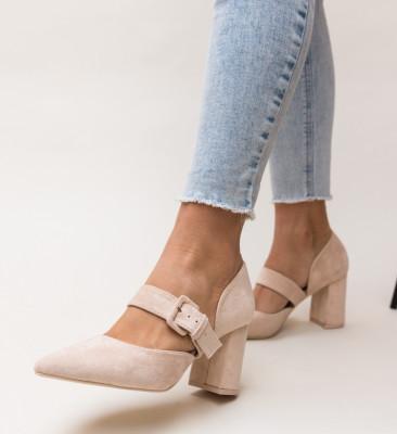 Pantofi Dionne Bej
