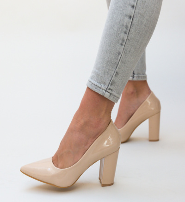 Pantofi Tobias Nude