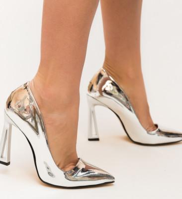 Pantofi Gasil Argintii