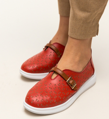 Pantofi Casual Vicez Rosii