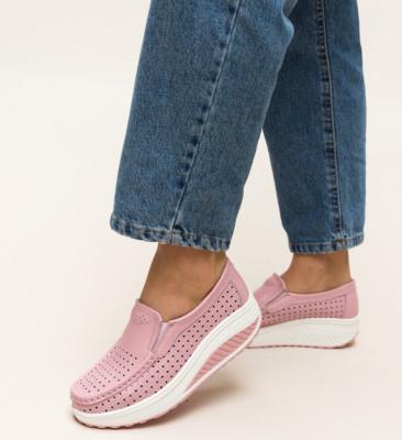 Pantofi Casual Bicaz Roz