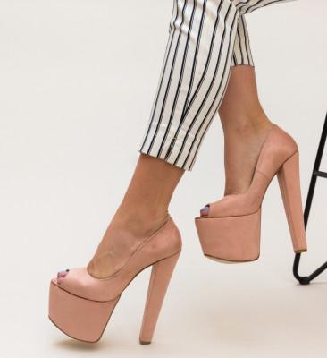 Pantofi Motius Roz
