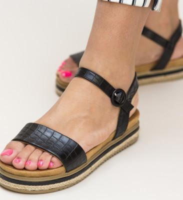Sandale Lute Negre