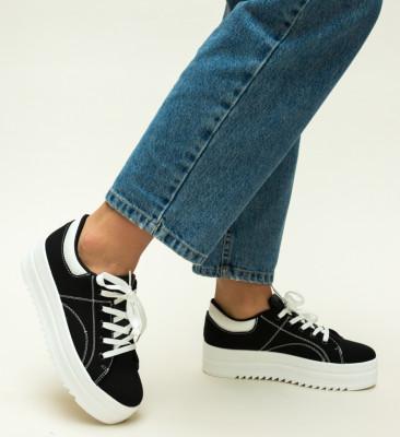 Pantofi Sport Maddox Negri
