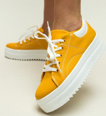 Pantofi Sport Maddox Galbeni