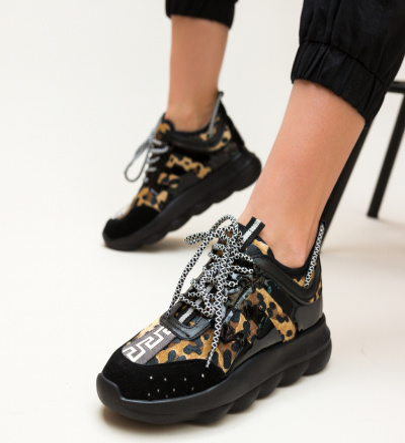 Pantofi Sport Medoza Leopard