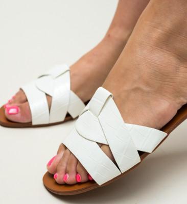 Papuci Zagara Albi