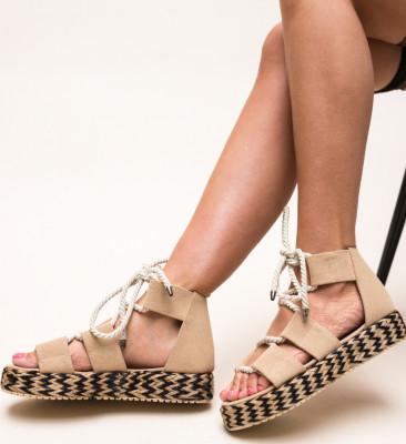 Sandale Boxero Bej