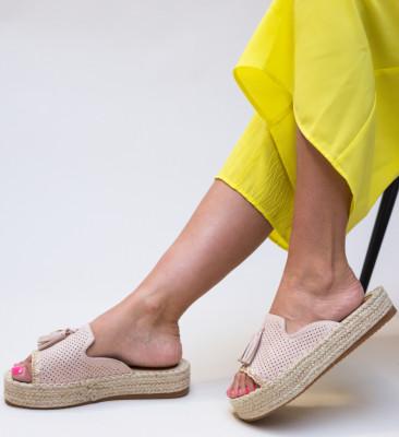 Papuci Cerza Nude