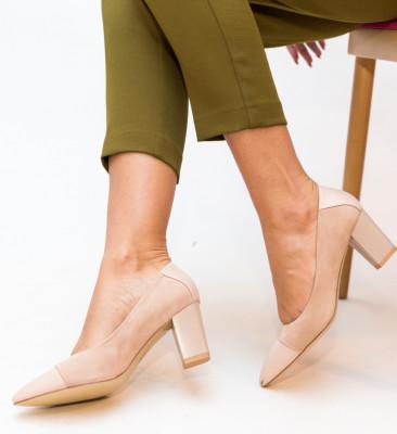 Pantofi Ajay Nude