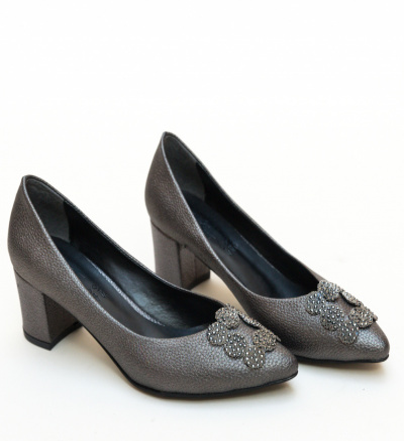 Pantofi Broida Gri 3