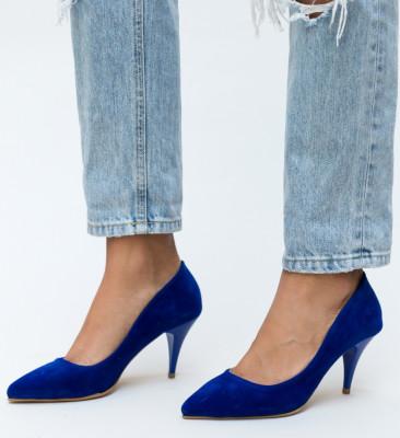 Pantofi Buhas Albastri
