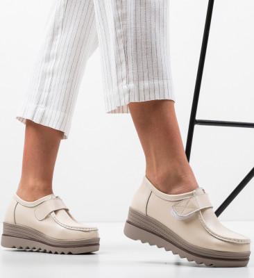 Pantofi Casual Abbi Bej