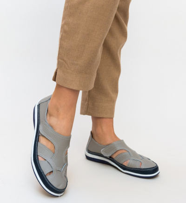 Pantofi Casual Aime Gri